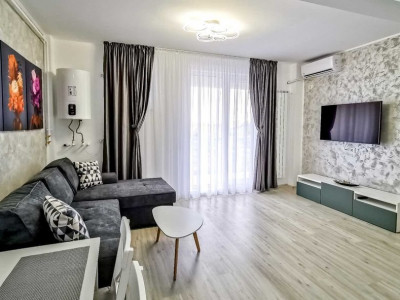 Apartament 2 Camere - Mamaia Nord - Mobilat/Utilat - Vedere Frontala La Mare