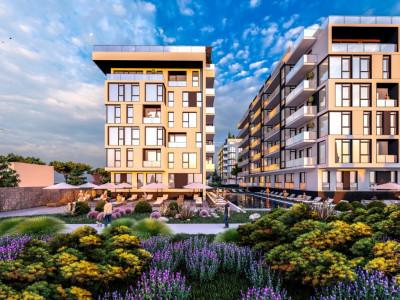 Apartament 2 Camere In Resort Cu Acces Full La Piscina,SPA,Fitness - Mamaia Nord