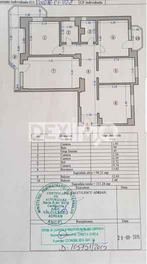 Apartament 4 Camere - Zona Trocadero - Gaze La Aragaz - Disponibil Imediat