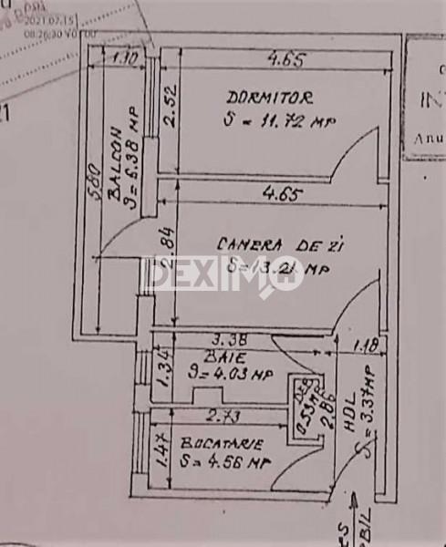 Apartament 2 Camere - Zona Inel II -  Parter