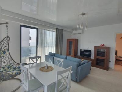 Apartament 2 Camere - Mamaia Nord - Vedere La Mare si Lac - Mobilat/Utilat